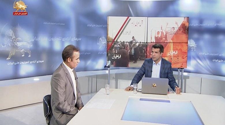 قیام عراق - تظاهرات در بغداد و حمله چماق بدستان و مزدوران رژیم ایران به جوانان انقلابی در میدان تحریر