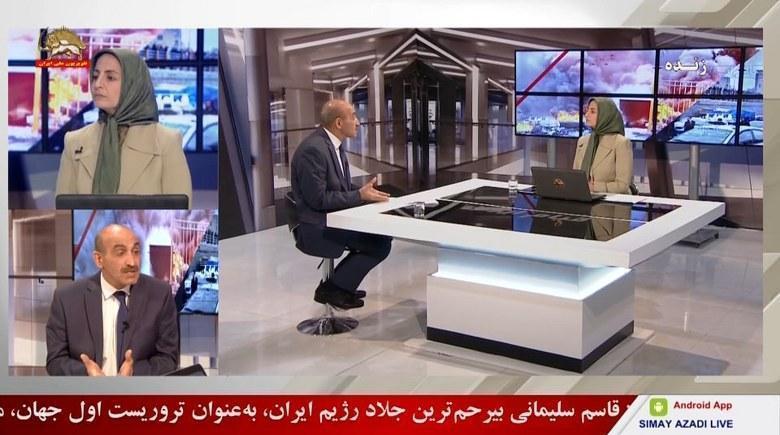 تجمع اعتراضی غارتشدگان کاسپین در تهران